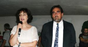 Nella foto: il nuovo preside, Sandro Luciani, assieme all'assessore comunale Simona Gregori