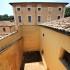 Il cortile interno dell'antico carcere (foto di Alessio Staffolani)