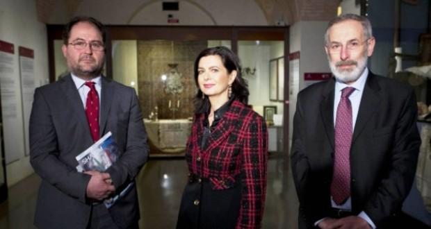 La Presidente Laura Boldrini con Riccardo Di Segni