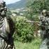 Le sculture al monastero delle Clarisse