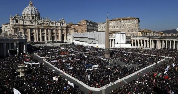 Udienza del Papa in Piazza San Pietro