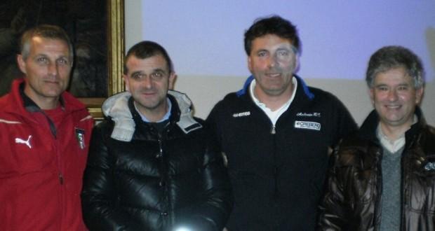 Da sinistra: Porro, Pelagalli, Bonaccorso e Cipolletta