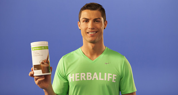 Cristiano Ronaldo, uno dei più noti testimonial internazionali di Herbalife
