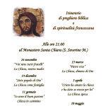 Incontri di preghiera: il programma