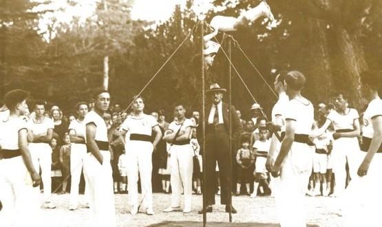 Ginnasti al Giardino pubblico (1927)