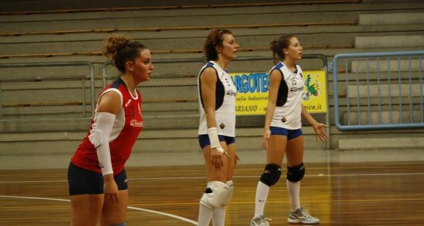 Da sinistra: Alessandra Meschini, Alessia Tavoloni e Martina Paparoni