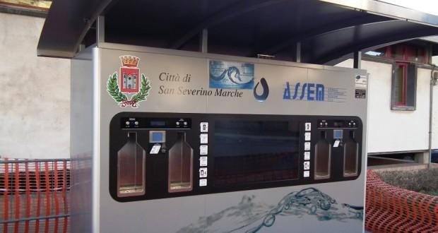 """Il distributore della """"Casa dell'acqua"""""""