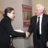 L'autrice Gnaccolini premiata dal prof. Bertelli
