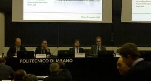 Un momento del seminario al Politecnico di Milano