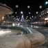 L'illuminazione natalizia in Piazza del Popolo