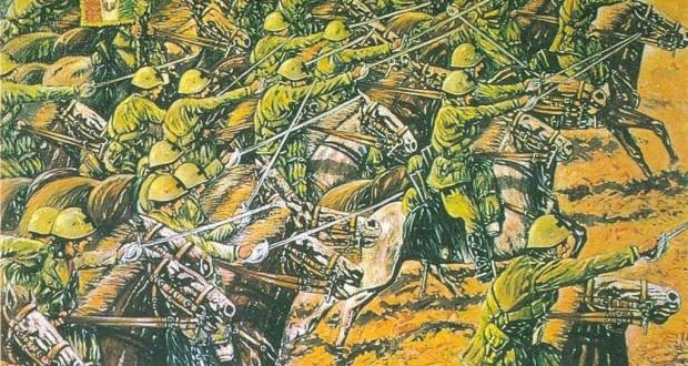 Un'immagine dedicata alla carica di Isbuschenskij
