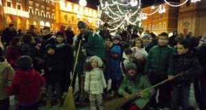 La Befana in piazza