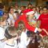 Babbo Natale incontra gli atleti del minivolley