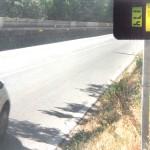 Un'auto a 174 km/h