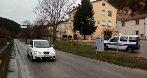 Autovelox all'ingresso di San Severino