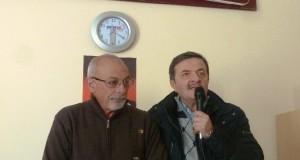 Il presidente Dino Marinelli e il sindaco Cesare Martini