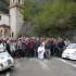 I partecipanti al pellegrinaggio alla Madonna dell'Ambro