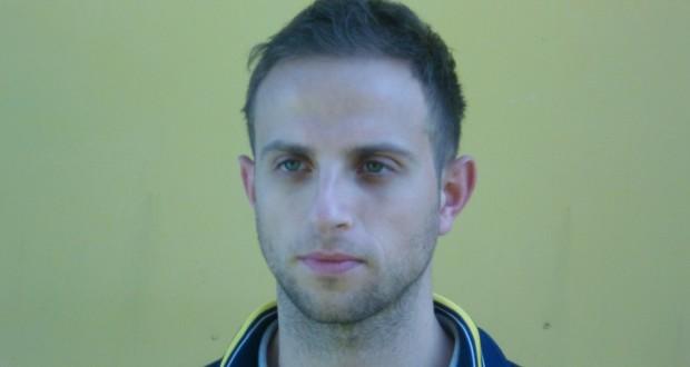 Ruggero Gheroni, autore del gol del vantaggio