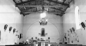 L'interno della chiesa di Sant'Antonio