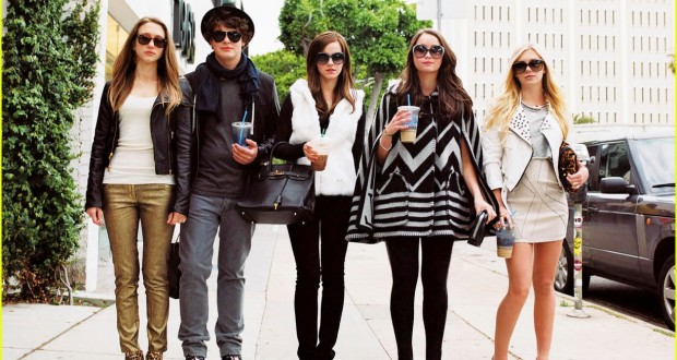 "Una scena del film ""Bling ring"""