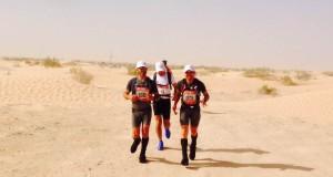 Cruciani alla maratona nel deserto