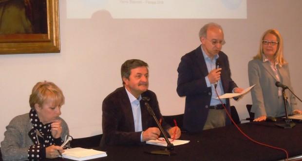 Da sinistra: Anna Maria Foresi, Cesare Martini, Massimo Altobelli e Vanna Bianconi