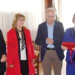 La premiazione di Ancilla Tombolini (a destra)
