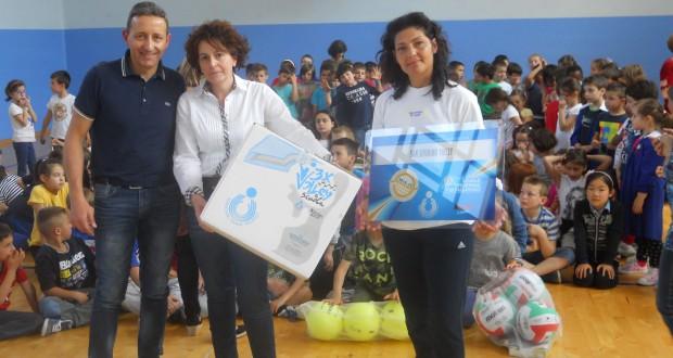 Da sinistra: Luca Crescenzi, Martina Prosperi e Donatella Dignani