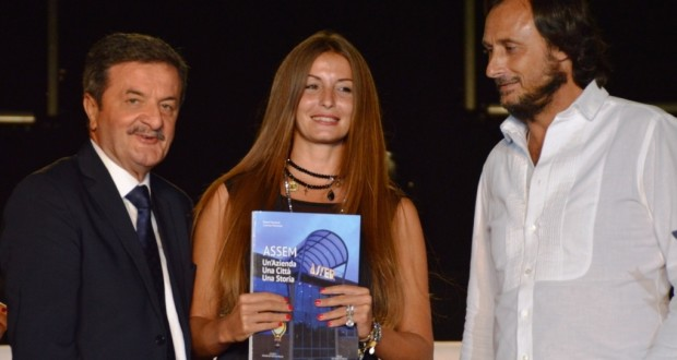 Il sindaco Martini assieme a Tiziana Carnevali e Roberto Lorenzini