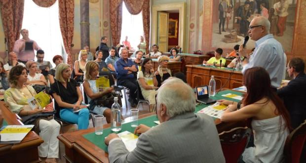 Conferenza stampa di presentazione in Comune