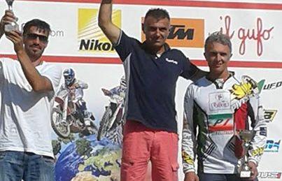 Massimiliano Luzi sul podio