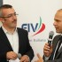 Oliviero Carducci alla presentazione del nuovo look a Roma