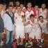 La premiazione del Basket Maceratese, squadra vincitrice del Memorial