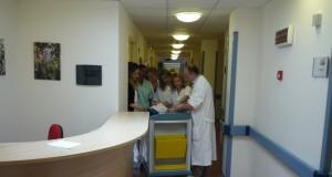 L'interno dell'Hospice di San Severino