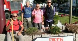 Da sinistra: Marinelli, Pacella, Egidi e Beni