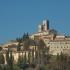 Il Castello al monte con il monastero di Santa Caterina