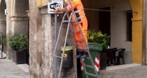 Wi fi gratuita in piazza e altre zone della città