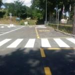 Cesolo, asfaltato piazzale della scuola con aiuti privati