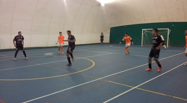 Gara di calcio a 5 (immagine d'archivio)