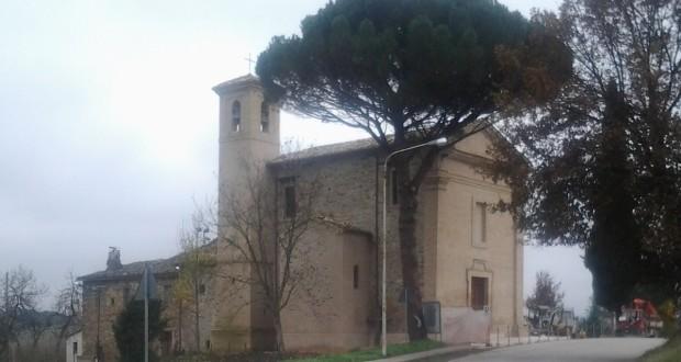 La chiesa di Cesolo