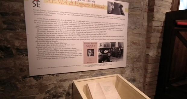 """Gli """"Xenia"""" di Montale dell'Archivio storico della tipolitografia Bellabarba"""