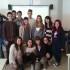 Gli studenti del 3° anno di Chimica che si sono aggiudicati il primo premio al concorso nazionale: una Lim