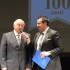 Il presidente Brunacci al Feronia con Marco Moscatelli per i 100 anni dell'Assem