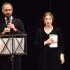 Anna Bonaiuto con il direttore artistico Francesco Rapaccioni