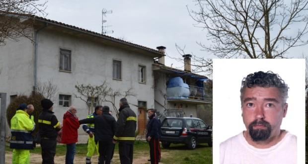 L'abitazione dello scomparso, i primi soccorsi e la foto di Luca