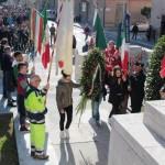 Gli studenti in piazza per le vittime della Grande guerra