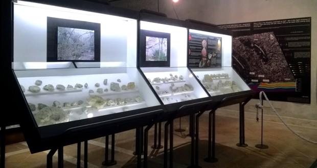 """Reperti esposti al museo """"Moretti"""" di San Severino"""