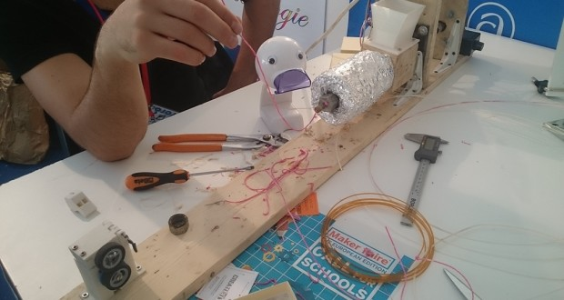 Il prototipo presentato alla Festa della Scienza