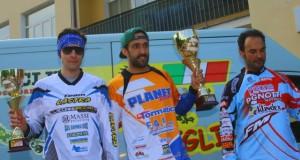 Sul podio Luca Moriconi (il primo a sinistra)