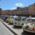 Il raduno delle Fiat 500 in piazza